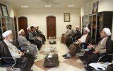 دیدار اعضای موسسه موضوعی شناسی احکام فقهی با ریاست بنیاد اسرا