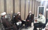 نشست مدیر موسسه آوای توحید و رئیس پلیس فتای استان قم